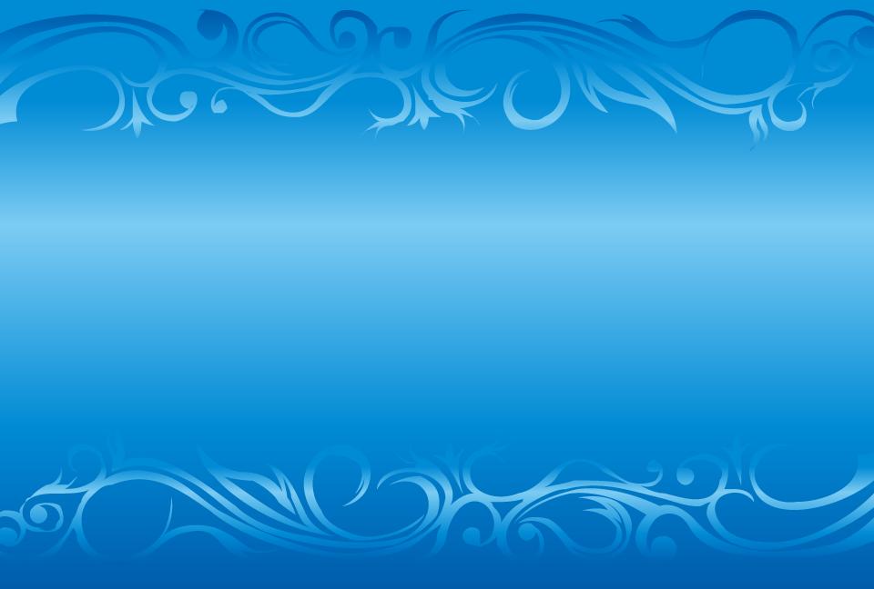 ゴージャスなフレームの青色の ...