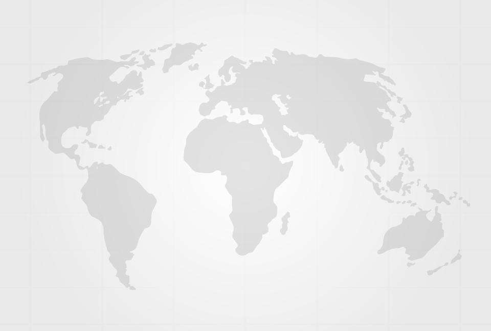 世界地図のシルエットの薄灰色 ... : 世界地図 フリー : 世界地図